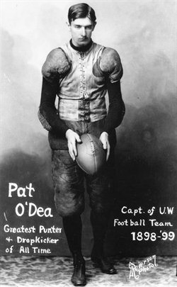 Born in Melbourne, Australia, John O'Dea was a star rugby player before his American football kicking fame.