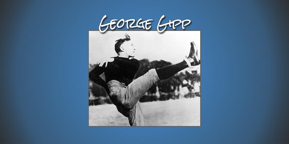 George Gipp | American Football Kicking Hall of Fame